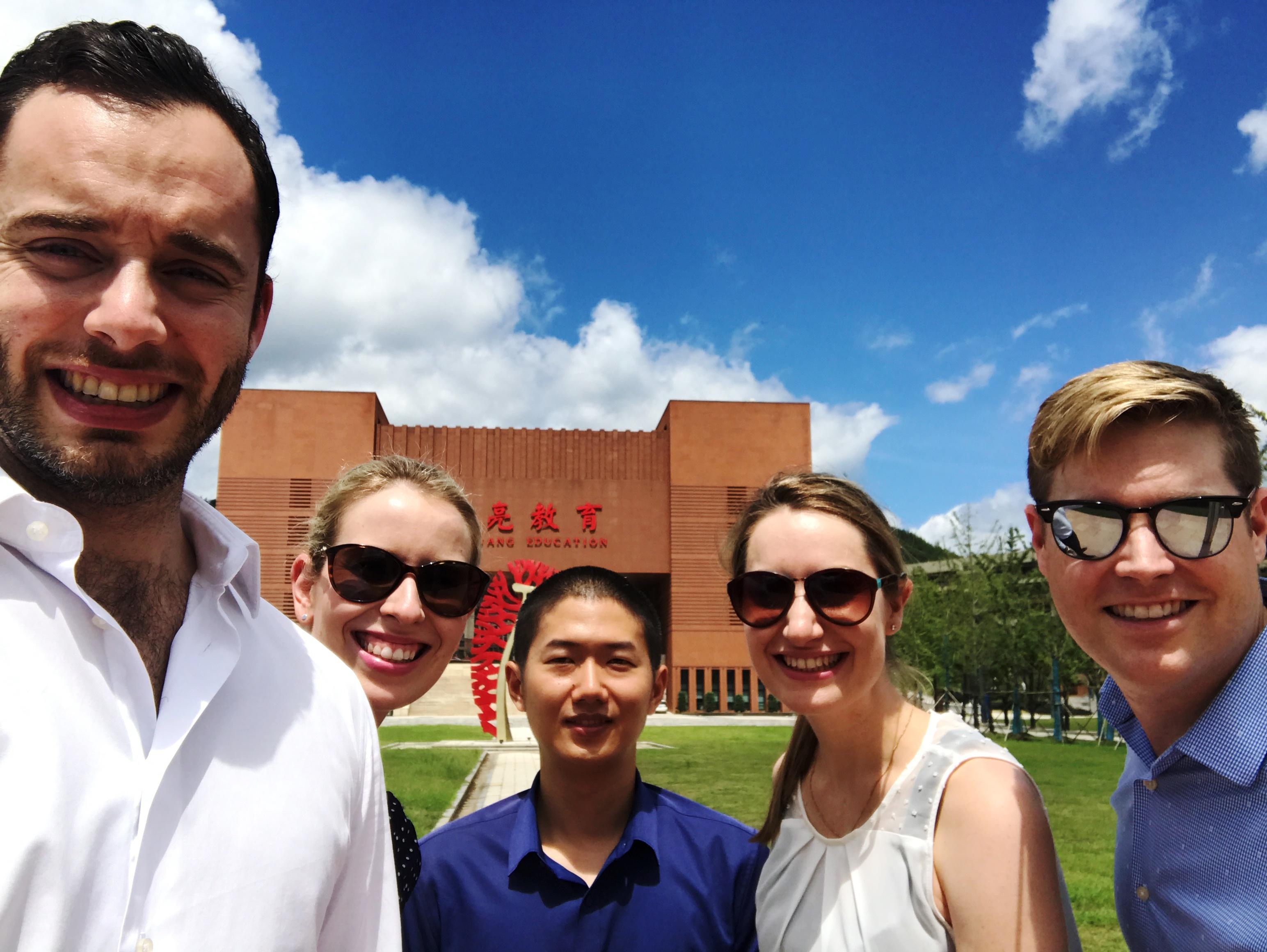 University of Sydney MBA Students visit Hailiang Education
