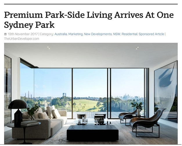 Premium Park-Side Living on HPG site